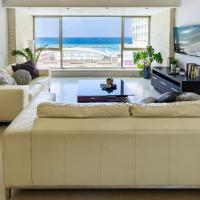 Luxury Full Sea View Apt Facing Gordon Beach