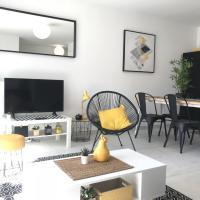 Appart T3- Terrasse&Garage / 5min Ctre Ville&Plage