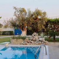 Kipos: Private Luxury Pool Villa Near Mesologgi