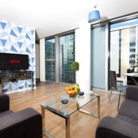 Two Bedroom Apartment with Free Parking at the Hub in Central Milton Keynes