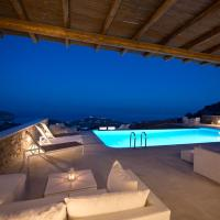 Luxury Alecta Suite in Villa Georgia - Breathtaking Sea View and Pool Front