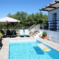 Luxury Holiday Home with Swimming Pool near Sea in Sfakaki
