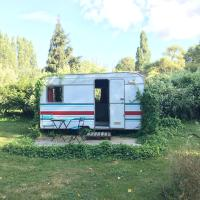 Caravane cosy hébergement insolite