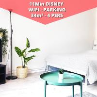T1 Cozy - Large studio - 4 pers - Disneyland Paris