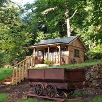 Miners log cabin