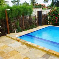 Maravilhosa Casa com piscina wi-fi em Aguas Belas Caponga