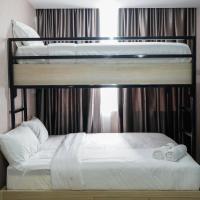 Minimalist 1BR Pasar Baru Mansion Apartment By Travelio