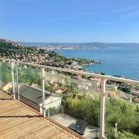 TriesteVillas EPIC SEA VIEW Str. Friuli 469, Luxury 3BR w/ parking, 7 guests