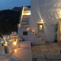 Restored traditional white house in Naxos