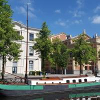 Monumentale woonboot op unieke locatie Groningen
