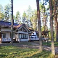 Big House in a Pine Forest