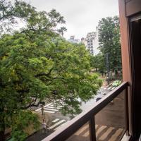Dpto. Centrico con vista a Plaza Colón
