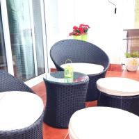 Apartamento en Sitges con piscina comunitaria a 10' del centro