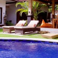 VERY CHARMING AND QUIET VILLA SEMINYAK OBEROI 6 P 600 m of beach