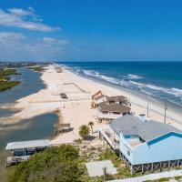 Beachfront Sapphire: Luxe 6 Bedroom Home