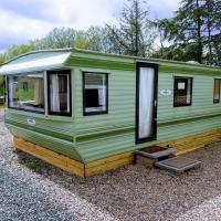 3 bedroom family caravan, Lochland, Forfar, Angus