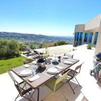 Exceptional Californian Villa, Panoramic Sea View, Infinity Pool