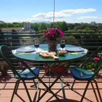 Panoramic & Romantic Apt in Villa Borghese Area