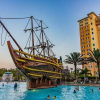 Disney Spring Area/Pirate Boat Pool