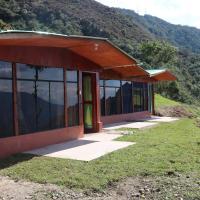 Llactapata Lodge overlooking Machu Picchu - camping - restaurant
