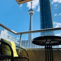 Luxury 3 bedroom/2 bathroom apartment with CN tower view in the heart of downtown Toronto