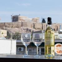 Apartment 130m² - Roof Garden with Acropolis View