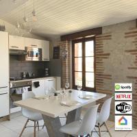 Coeur Argeles, T3 de charme et confort au centre du village