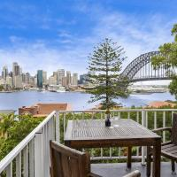 Panoramic view of Sydney Harbour, Kirribilli