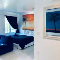 Luxury white loft on Ocean Drive-South beach with a view