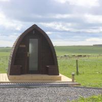 Hillside Camping Pods
