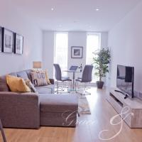 Luxurious one bedroom apartment with free parking