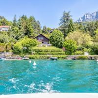 Le Fartot : Villa dans la Baie avec ponton privé.