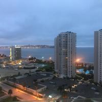 depto atrás del casino con espectacular vista al mar
