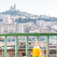 2 magnifiques vues et une terrasse sur le Vieux Port - Chez Thierry