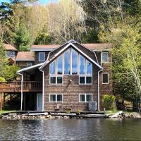 Adirondack and Saranac Lakefront Retreat
