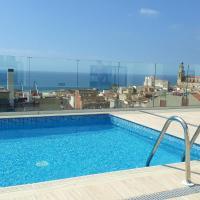Amazing pool sea views of El Masnou