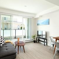 Comfortable 1-bedroom condo, minutes away from Skytrain