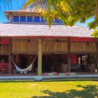 Casa de praia Angatu, pé na areia
