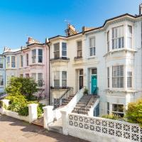Vintage Brighton Victorian Town-House 250m from Beach