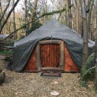 Hobbity Bell Tent House