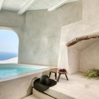 Marble Sun Villa with Jacuzzi by Caldera Houses