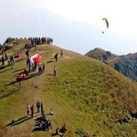 Royal Himalayan Adventure. Paragliding sight near landing point.P/O Bir Billing Teh Baijnath Himachal Pradesh.