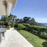 Le Saint Georges Appartement-Villa large vue mer et grand jardin privé