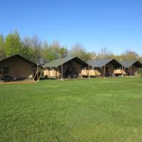 Safari tent at Minicamping Hendriks Wijkje