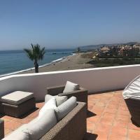 Exquisite Roof Top Terrasse Appartement Front Line Beach