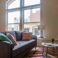 Colorful 1BR Loft in Walkable Location near Busch