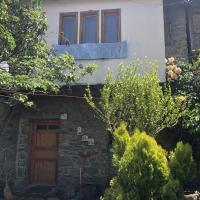 Traditional granite stone house