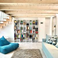 Blue Loft - Central open space & private parking