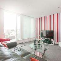 Luxury 1 bed apartment over looking Cardiff Bay