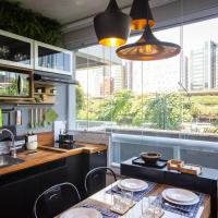 BP22 Estúdio moderno, incrível cozinha avarandada!